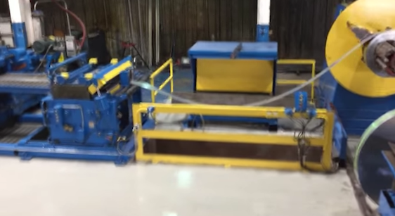 Nashville plant machine for Hascall Steel