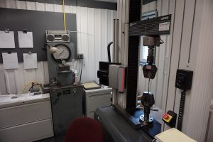 rockwell testing for mechanical properties of steel